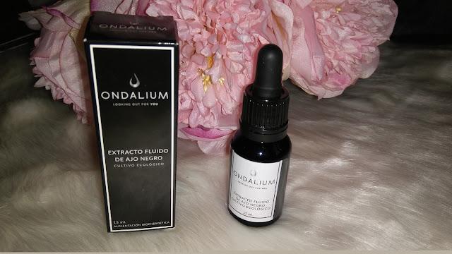Ondalium biocosmetica extracto de ajo negro ecologico