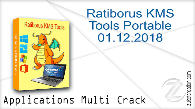 Ratiborus KMS Tools Portable 01.12.2018