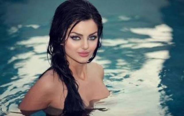 أجمل نساء الأرض الإيرانية ماهلاغا تتباهى بجمالها بطريقة مترفة!! وتنشر صور جريئة جداً!!