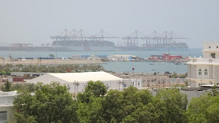 Some tourists use container ships to travel to Djibouti