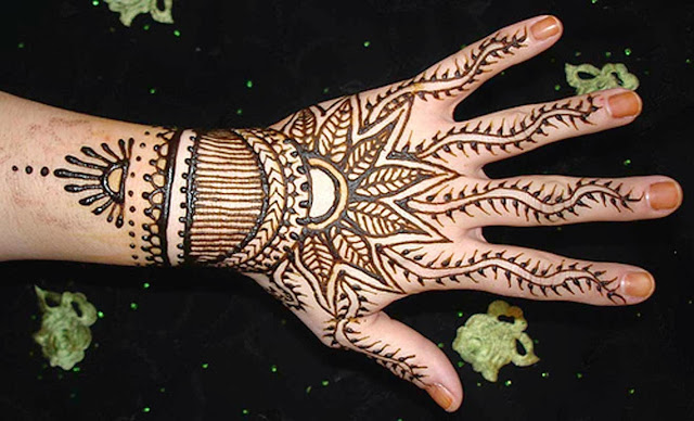 Latest Hand Mehndi and Temporary Tattoos 2017