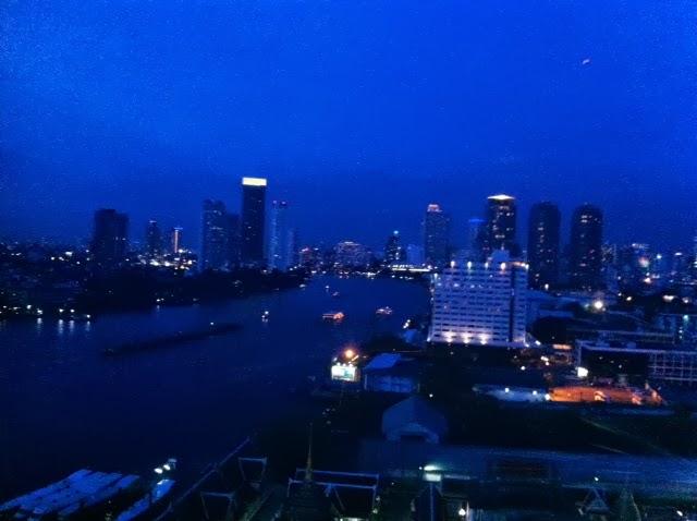 Bangkok by night at Asiatique in Bangkok