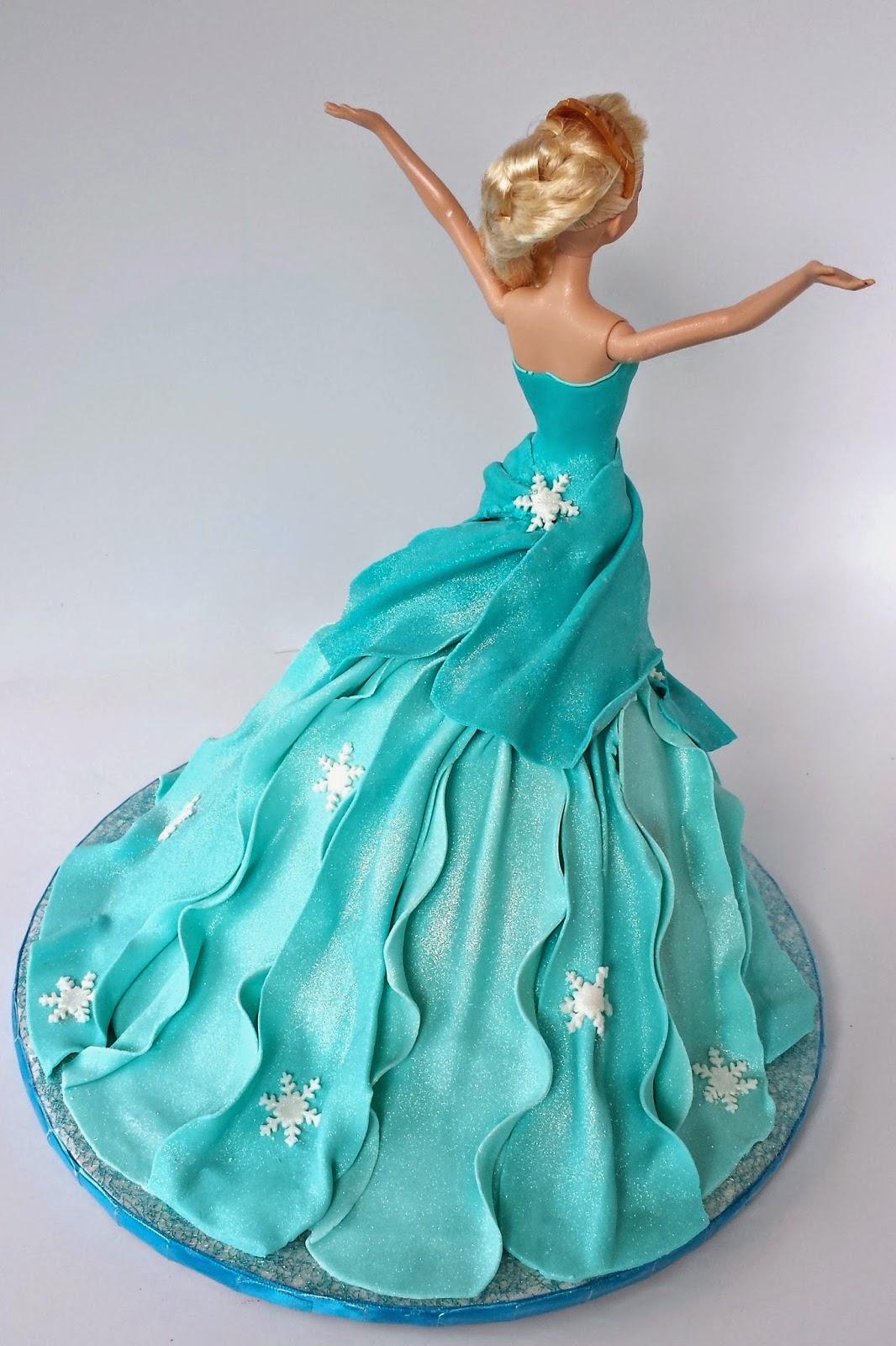 Cake Blog Elsa Doll Cake Tutorial
