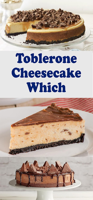 TOBLERONE CHEESECAKE DELICIOUS AND EASY RECIPE