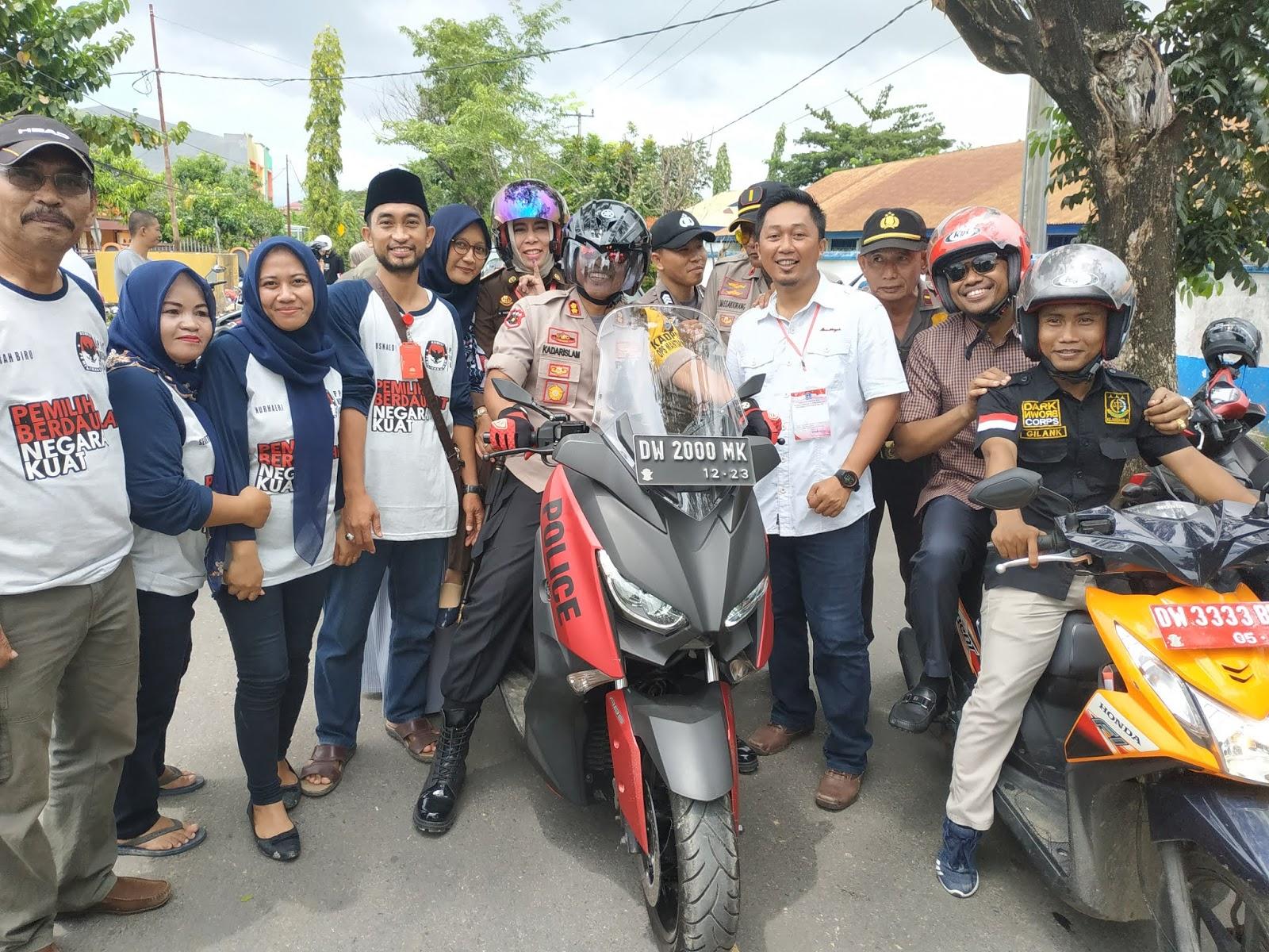Bupati Bone Apresiasi TPS 12 Kelurahan Biru, Kapolres Bone dan Dandim 1407/Bone Hanya Saksikan Dari Luar