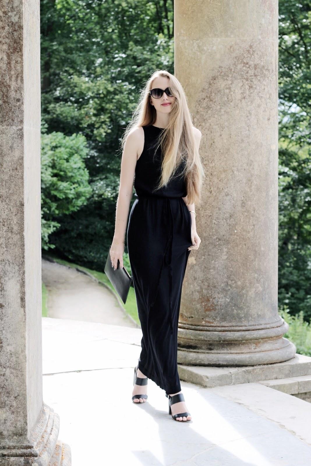 John Smedley Black Benton Dress