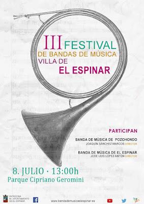 III Certamen de Bandas de Música Villa El Espinar