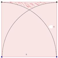 Penurunan Rumus Luas Daerah Yang Diarsir Materi Lingkaran Matematika