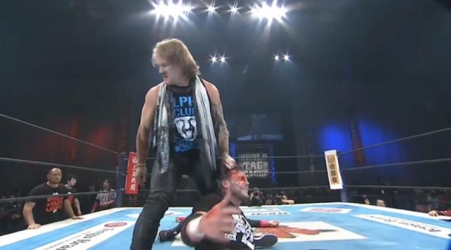 Chris Jericho brutálisan rátámadt Kenny Omegára