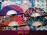 Souvenir kipas kain batik harga murah