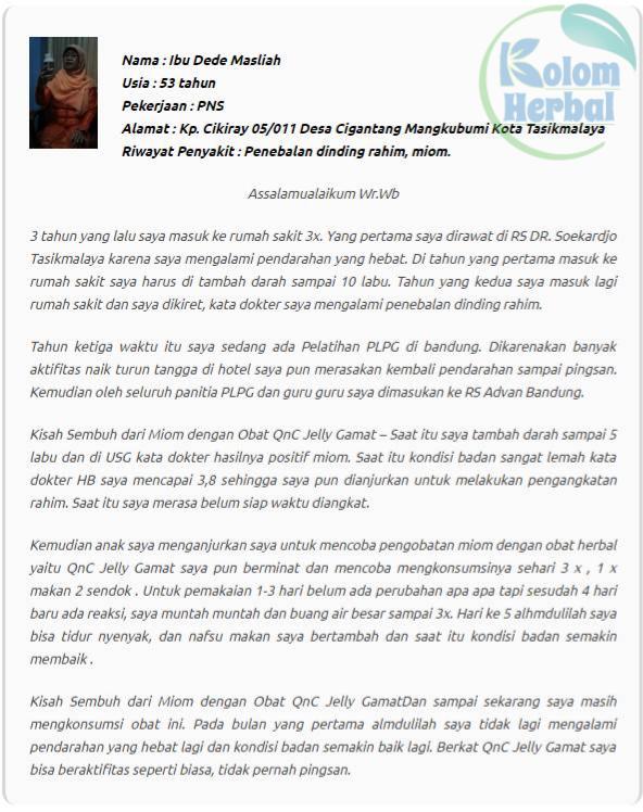 Obat Herbal Penyakit Kista Rahim