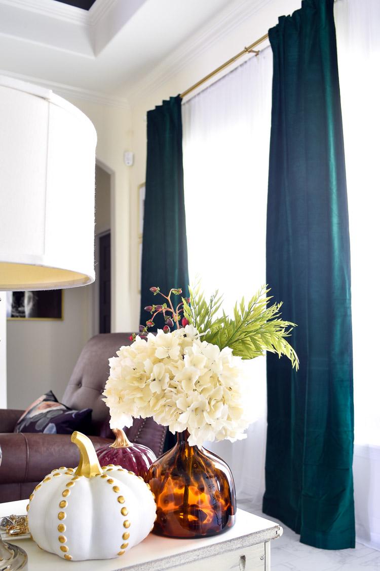 the best emerald green velvet curtain