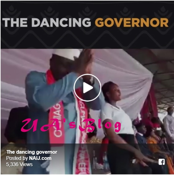 Governor Okorocha shows his amazing dancing steps at an event (video)