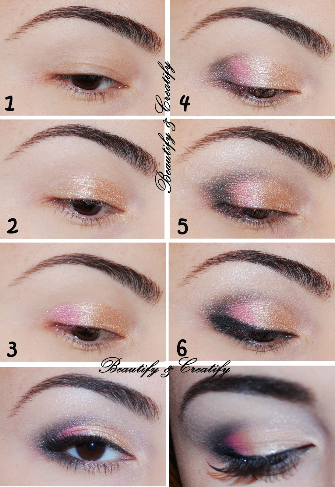 Beautify And Creatify: Everyday Shimmery Spring Makeup Look
