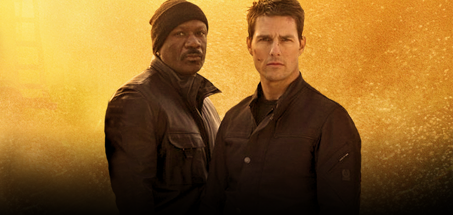 Ving Rhames şi Tom Cruise