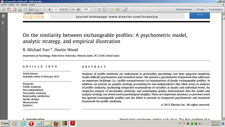 empirical analysis of online dating