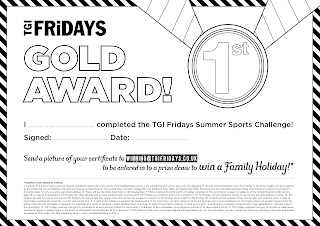 TGI Fridays win a holiday
