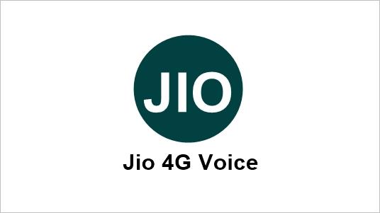 Download Jio4GVoice App