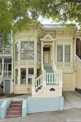 Jocelyn 39 s mountfield dollhouse painted lady dollhouse for Homes for sale in san francisco