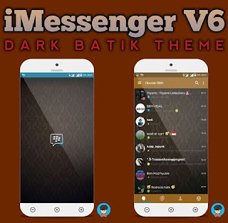 BBM IMessenger V6 Theme Batik V3.0.0.18 Apk
