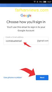 Cara Mudah Membuat Email Google Baru Di HP Android Cepat Jadi