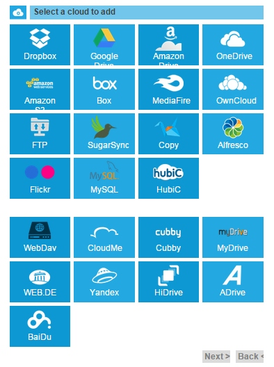 MultCloud - A Manager to Backup FTP/MySQL and Transfer Between Cloud Drives