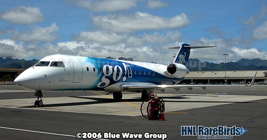 HNL RareBirds: go!'s N655BR
