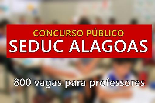Apostila Concurso Público SEDUC - AL 2017, para PROFESSOR