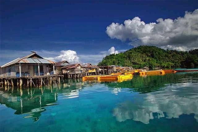 Nikmati Kesunyian di Pulau Togean