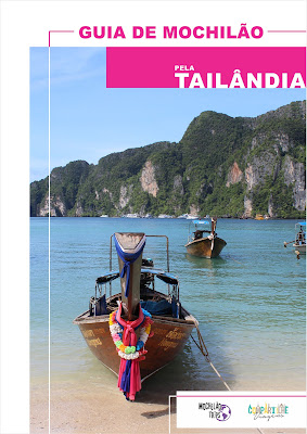 Compre o seu guia de Mochilão pela Tailândia