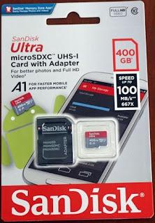 SanDisk Ultra microSDXC UHS-I Berkapasitas 400 GB Resmi Dijual Di Indonesia
