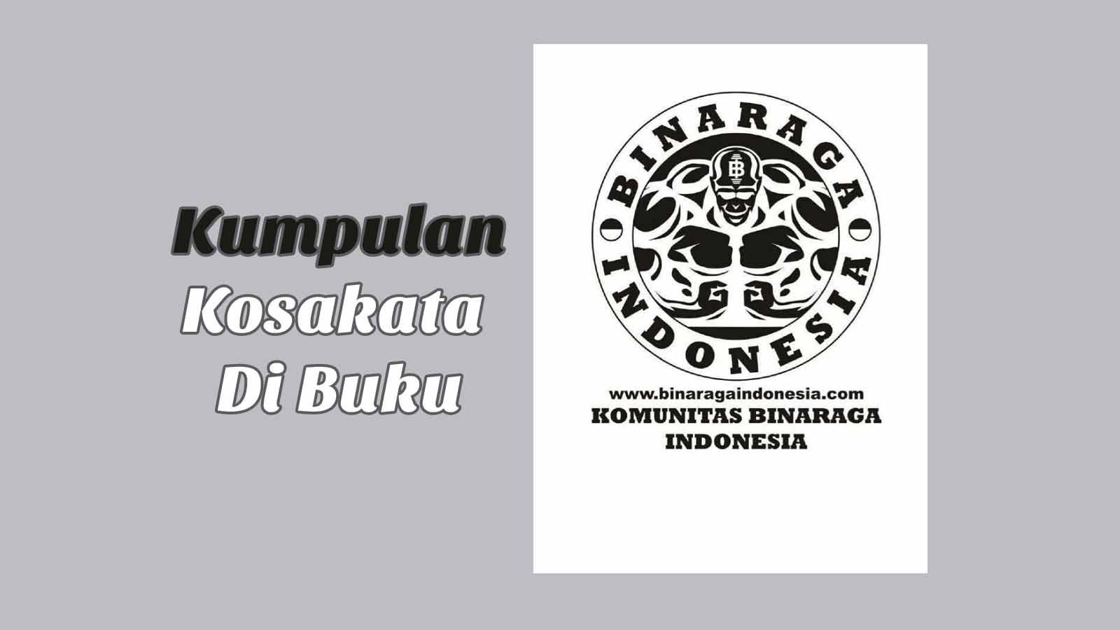 Kumpulan Kosakata Di Buku Binaraga Indonesia Manual Book