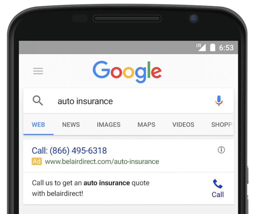 Inside AdWords: Google forwarding numbers arrive in Canada