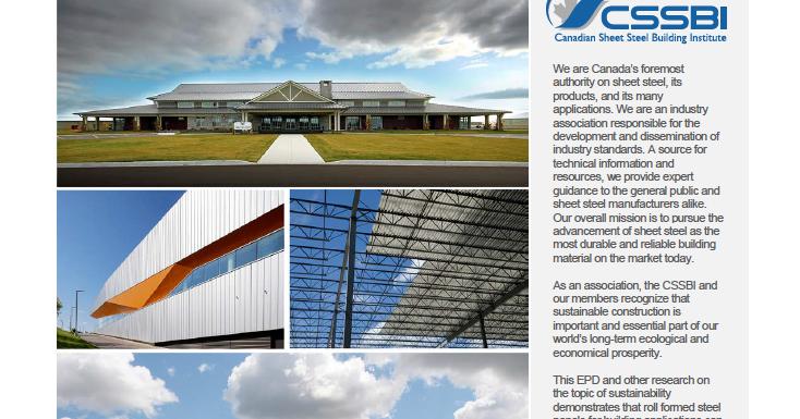 Canadian Sheet Steel Building Institute Blog Canadian