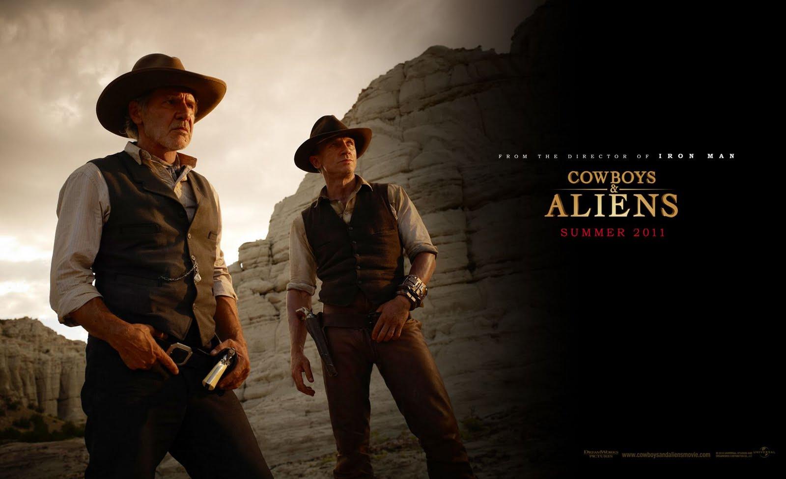 Window 7 HD Wallpaper: Cowboys & Aliens Hollywood Movie HD ...