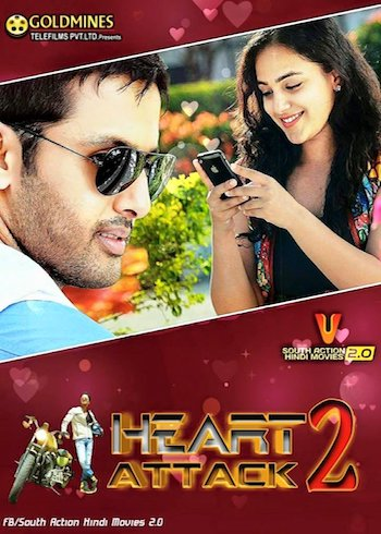 Heart Attack 2 (2018) HDRip UNCUT 480p Dual Audio Hindi 400MB