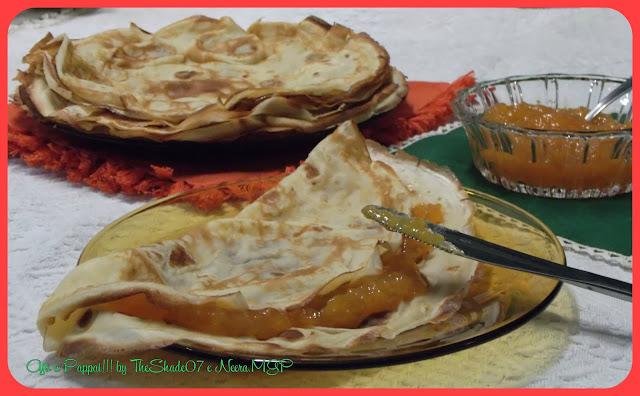 Fotografia del dessert Le crêpes dolci