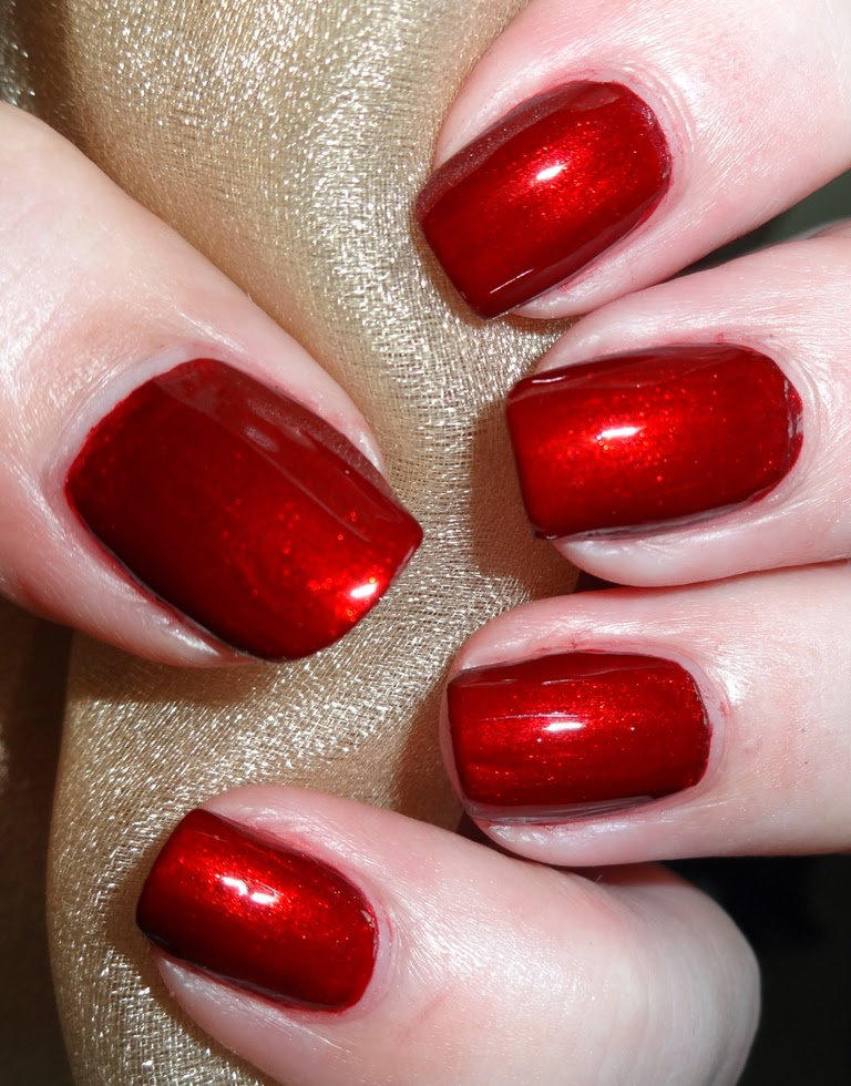 Wendy's Delights: Born Pretty Store Classic Red Nail Polish