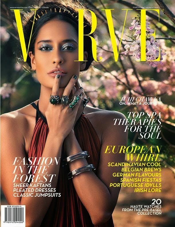 Lisa Haydon photo shoot for Verve March issue