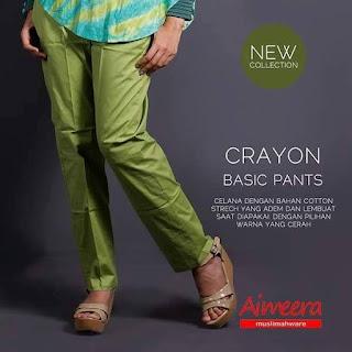 Celana Santai Crayon Pants