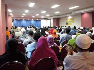 Seminar Peluang Bisnis Tabung Haji bersama Susu Haji Sehat Graha Pena Surabaya