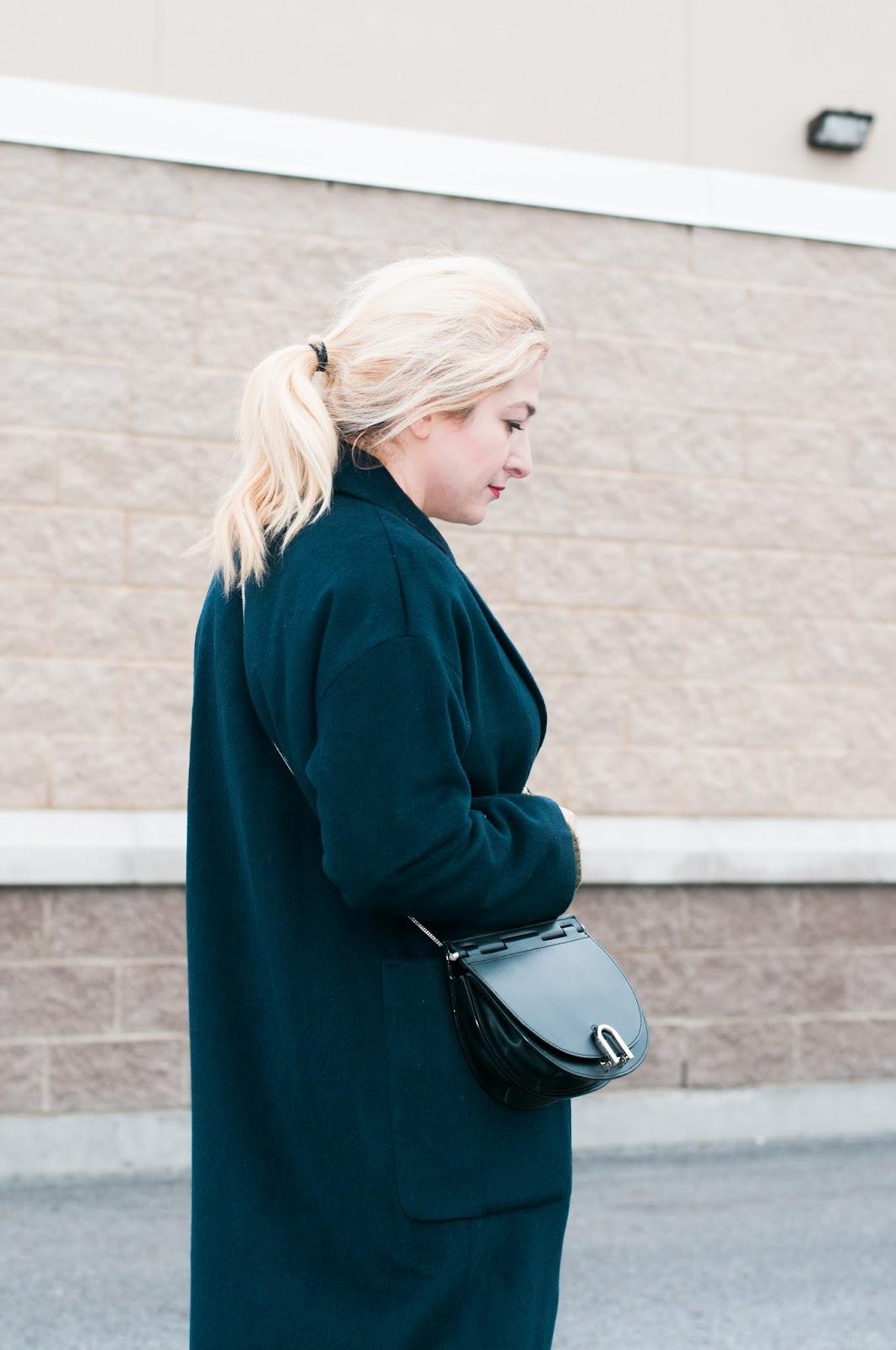 'Hana' Leather Crossbody Bag