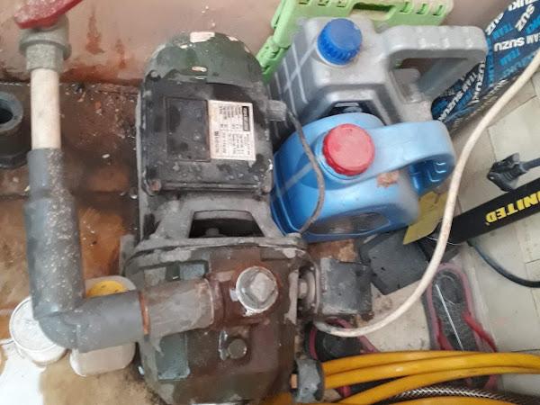 Mesin Pompa airnya tiba-tiba ngadat, ngga tau kenapa !!