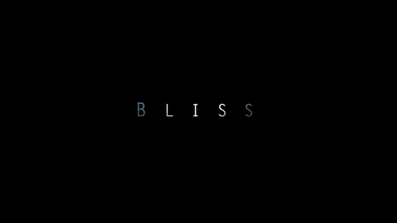 Bliss 2017 Filipino movie title card from Artikulo Uno Productions directed by Jerrold Tarog starring Iza Calzado, TJ Trinidad, Ian Veneracion, Shamaine Buencamino, Audie Gemora, and Adrienne Vergara showing on May 10, 2017
