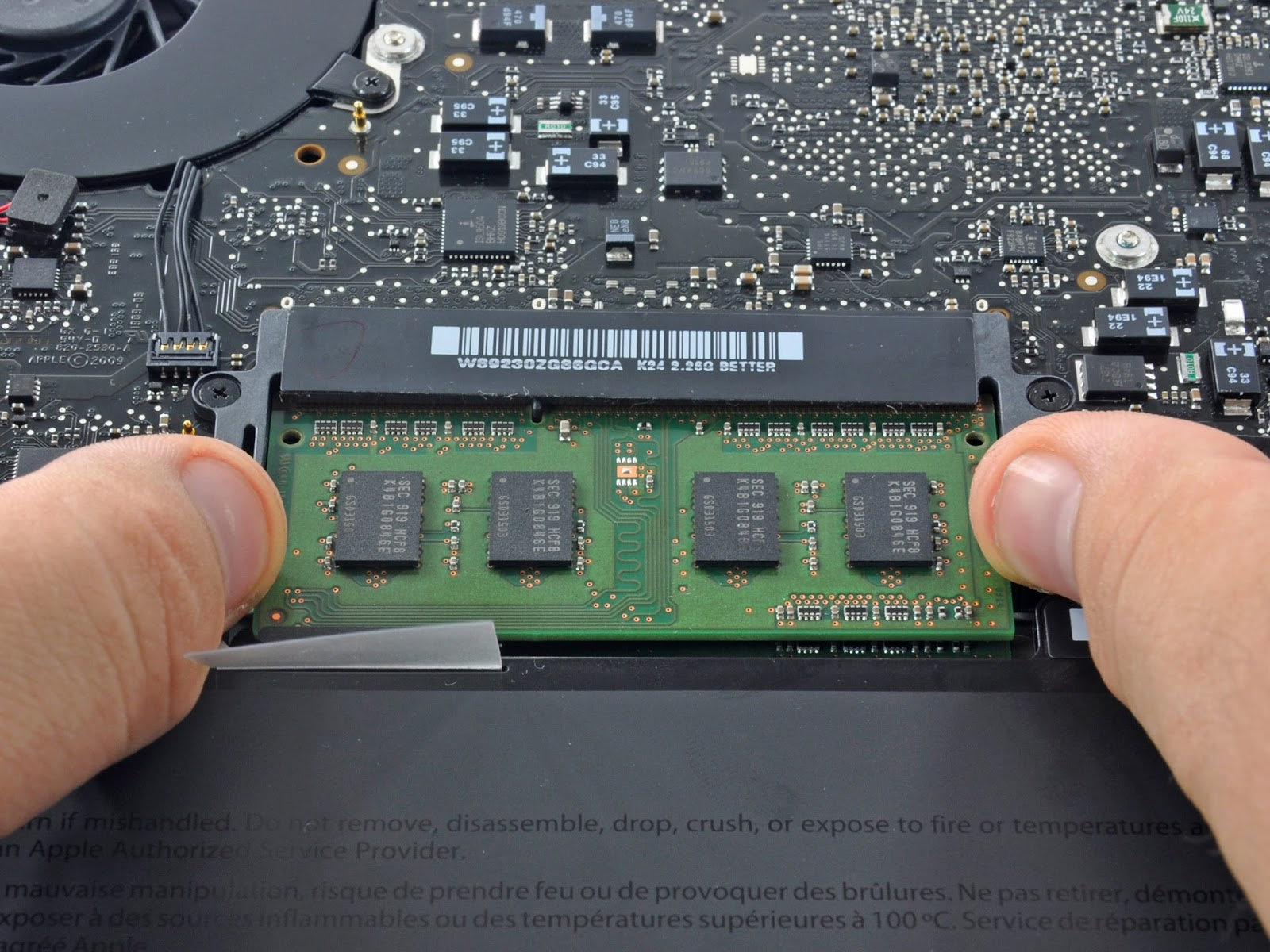 UPGRADE RAM APPLE MACBOOK PRO | KEDAI REPAIR MACBOOK 5