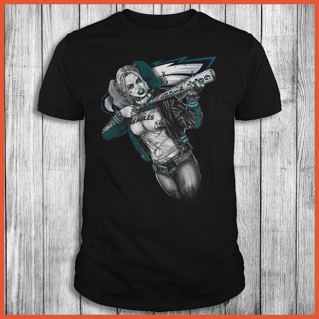 Philadelphia Eagles Harley Quinn T-Shirt