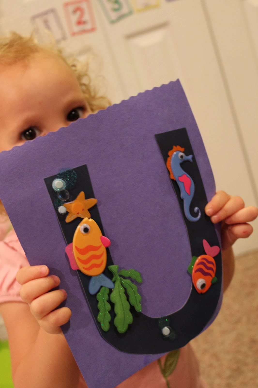 Letter U Projects For Toddlers