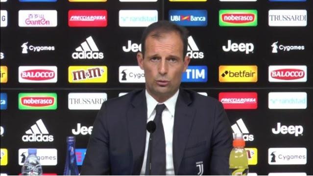 مباراة يوفنتوس وسامبدوريا والتشكيل المحتمل ولقاء الصحفي لأليجري