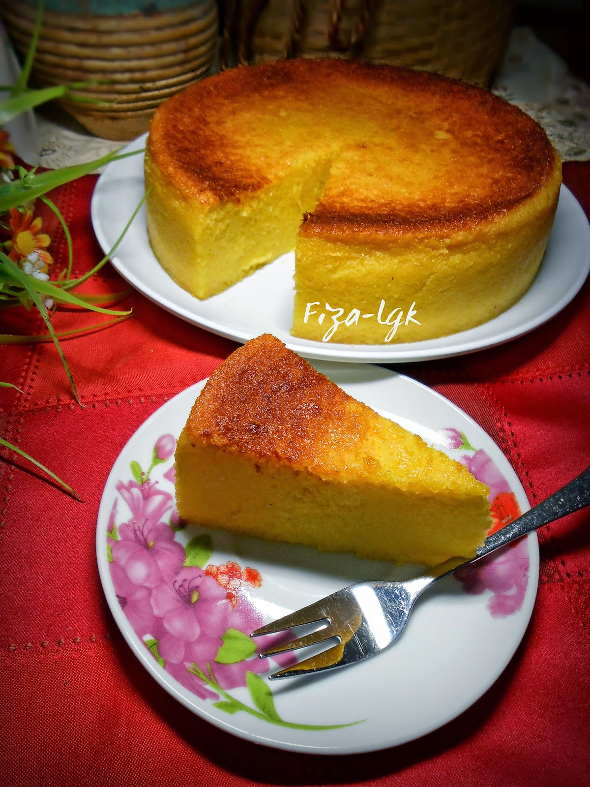 Bingka Ubi Kayu Cheese Ohcewek