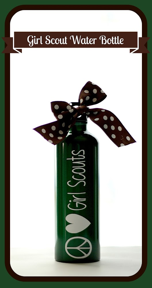 Girl Scout Water Bottle Favor